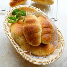 全麦蜂蜜面包卷的做法