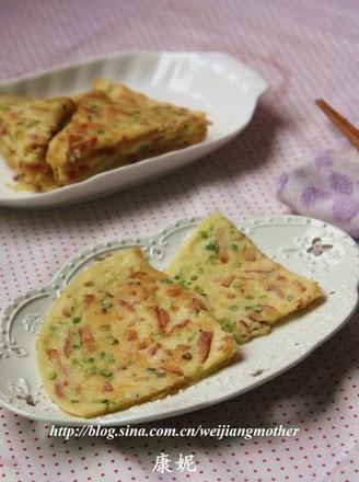 香葱培根蛋饼