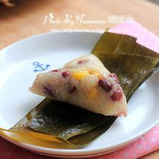 红豆玉米粽子的做法