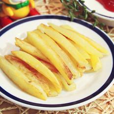煎薯条的做法