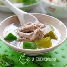 带皮冬瓜排骨汤的做法