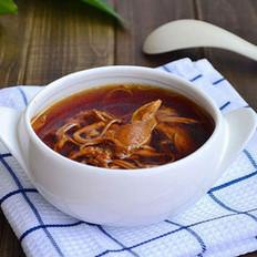 滋补虫草花炖鸡汤的做法