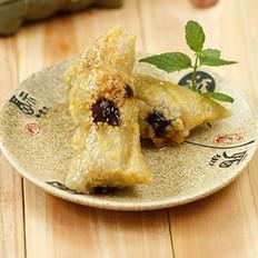 大黄米枕形粽的做法