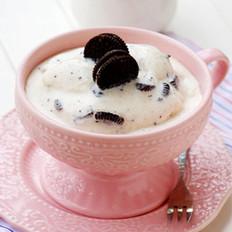 香草奧利奧軟冰淇淋的做法