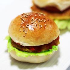 鲜虾玉米小汉堡的做法