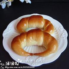 牛角小面包的做法