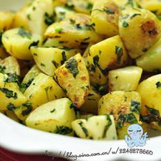 罗勒小土豆的做法