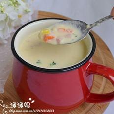 西式玉米濃湯的做法