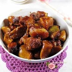 杏鲍菇烧肉的做法