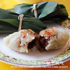 猪油豆沙粽的做法
