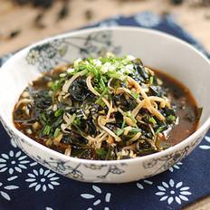裙带菜拌金针菇的做法