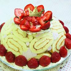 草莓夏洛特的做法