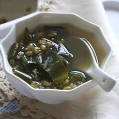 海带绿豆汤的做法