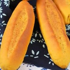 南瓜红糖面包的做法