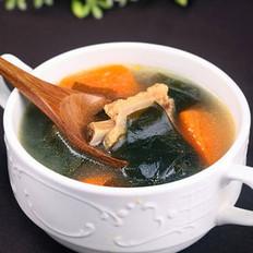 裙带排骨汤的做法