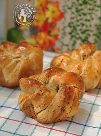 花形肉松面包