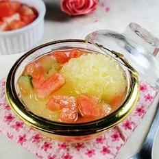 冰糖银耳西瓜盅