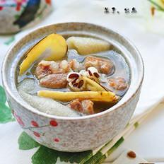 竹荪葛根海底椰汤的做法