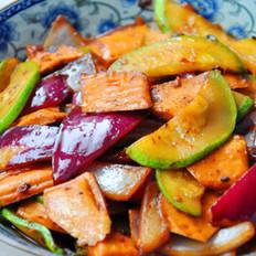 豆豉炒杂菜的做法