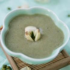 莲子陈皮绿豆沙的做法