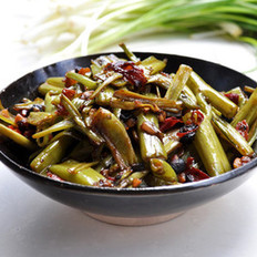 豉椒煸菜梗的做法