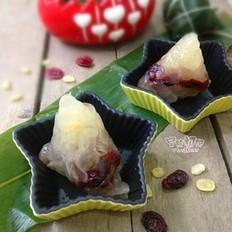蔓越莓水晶粽子的做法