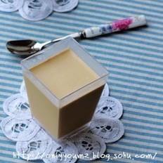 焦糖奶茶奶冻的做法