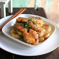 椒盐脆皮小土豆的做法