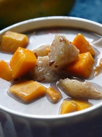 粽香豆沙芒果捞
