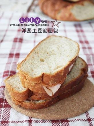 洋葱土豆泥面包的做法