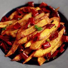 干煸土豆条的做法