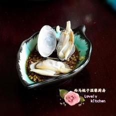 白灼花蛤的做法