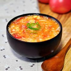 番茄金针蛋花汤的做法