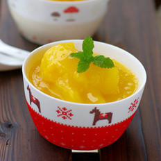 芒果沙冰的做法