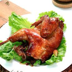 蔥香烤雞的做法