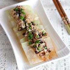 虾皮香菇蒸冬瓜的做法