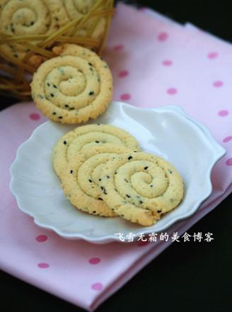 黑芝麻蛋白饼干的做法