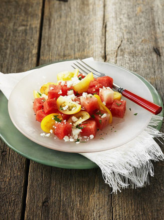 油醋汁蕃茄沙拉的做法