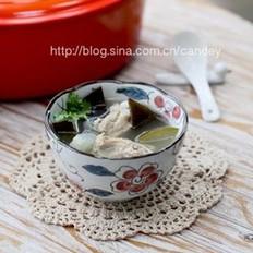 海带冬瓜排骨汤的做法