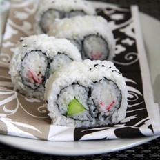 双拼里卷寿司的做法