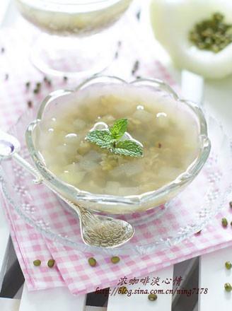 蜂蜜绿豆冬瓜饮