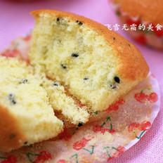 黑芝麻小海绵蛋糕的做法
