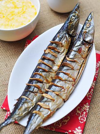 蒜香秋刀鱼的做法