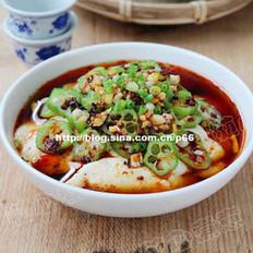 香辣豆腐拌秋葵的做法