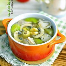 丝瓜莲子蘑菇鸭羹