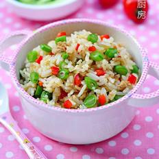 四季豆炒饭