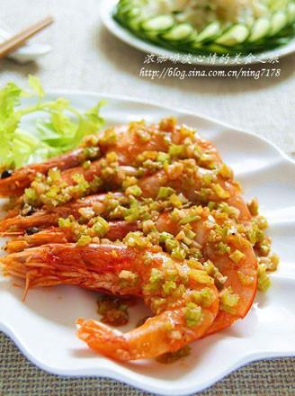 芹菜炒对虾