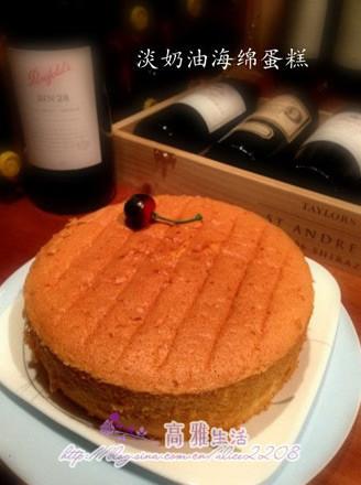 淡奶油海绵蛋糕