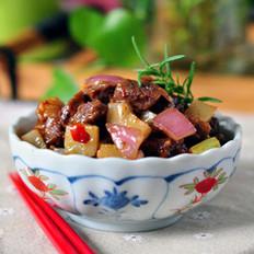 榨菜牛肉丁