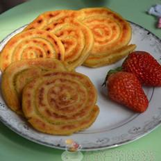 玉米面盘丝饼